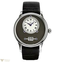 Jaquet-Droz Grande Date 18K White Gold Men's Watch
