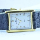 Maurice Lacroix Miros Damen Uhr 25mm Stahl Vergoldet Carree