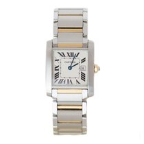 Cartier Tank Francaise Stainless Steel & Rose Gold