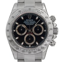 Rolex Daytona (Black Dial) Ref: 116520 (FULL SET)