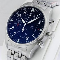 IWC Pilot's Watch Chronograph IW377704 Stainless Steel...