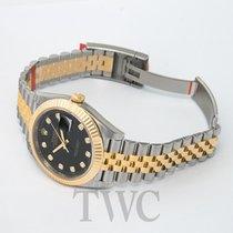 Rolex Datejust 41 Black Steel/18k gold G 41mm - 126333