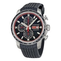 Chopard Mille Miglia GTS Black Rubber Racing Tires Mens Watch...