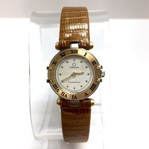 Omega Constellation 2 Tone 18k Yellow Gold & Steel Ladies...