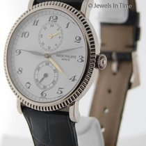Patek Philippe Travel Time 5034 18K White Gold Mens Watch...