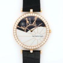 Van Cleef & Arpels Rose Gold Journee a Paris Diamond Watch