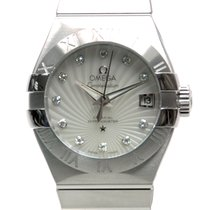 Omega Constellation Stainless Steel White Automatic 123.10.27....