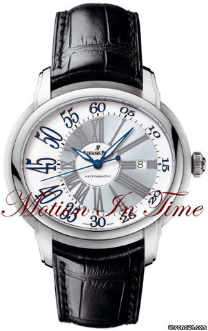 Audemars Piguet MILLENARY LARGE MEN&amp;#39;S AUTOMATIC WHITE GOLD 45mm
