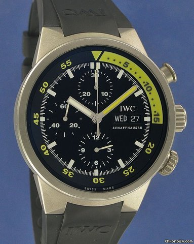 IWC Aquatimer Chrono-Automatic Titan--SOLD--