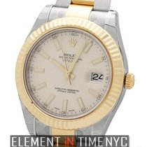 Rolex Datejust II Stainless Steel / Yellow Gold 41mm Ref. 116333
