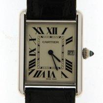 Cartier Tank Louis De Cartier White Gold Date