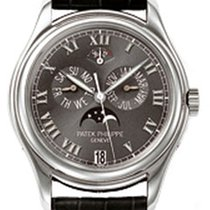 Patek Philippe 5140P White Stainless Steel 40mm Annual...