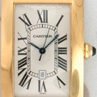 Cartier 1740 Large Tank Americaine, Yellow Gold