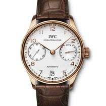 IWC [NEW] IW500113 Portuguese 7 Days Rose Gold