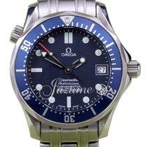 Omega Seamaster 300M 2222.80 Men's 36mm Midsize Blue...