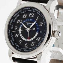 Montblanc Star World-Time GMT Automatik Stahl Ref.106464