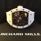 Richard Mille Bubba Watson WHITE CERAMIC RM055 RM55