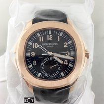 Patek Philippe Aquanaut Dual Time Extra Large Rose Gold On Strap