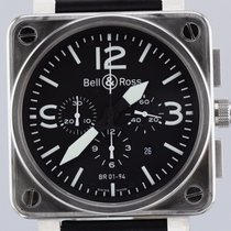 Bell & Ross BR01-94 Automatic Chronograph, Stainless...