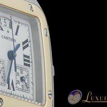 Cartier Santos Galbee Chronograph 18kt Gelbgold/Edelstahl |...