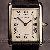 Cartier Tank Mecanique Extra-platte 18kt. Gold Ultra-thin...