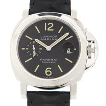 Panerai New  Luminor Stainless Steel Black Automatic PAM00104