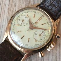 Breitling Original Premier Chronograph 18 KT Rosegold Vintage
