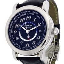 Montblanc Meisterstuck 7203 Star Collection World-Time GMT...