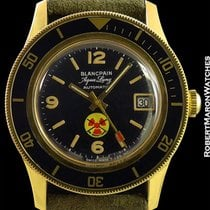 Blancpain Aqua Lung Automatic Military Us Navy Issued 40mm New...