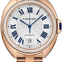 Cartier Cle De Cartier Automatic 40mm 18kt Rose Gold WJCL0009