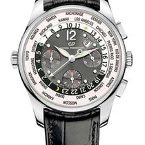 Girard Perregaux Worldtimer Chrono WW.TC 18K White Gold...