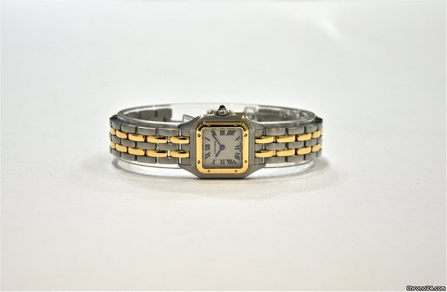 Cartier Panther 18ct gold and steel