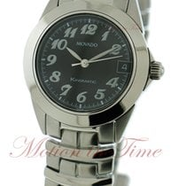Movado Kingmatic Automatic 30m, Black Dial - Stainless Steel...