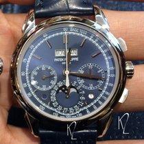 Patek Philippe 5270G Blue Dial Perpetual Calendar Chronograph