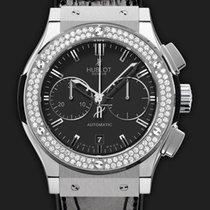 Hublot Classic Fusion Chronograph Titanium Diamonds 45 mm