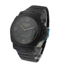 Panerai PAM00438 Tuttonero Luminor 1950 3 Days GMT in Black...