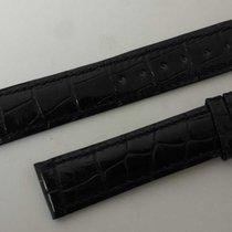 Corum vintage strap black croco newoldstock mm 18