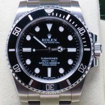 Rolex Submariner 114060 Ceramic Bezel Black 1000Ft 300 Meters...