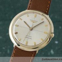 Longines 14k Gold Admiral 1200 Automatik Herrenuhr 2530-340...