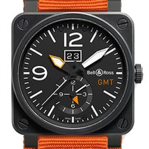 Bell & Ross Aviation BR03 BR0351-GMT-CA