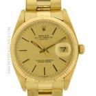 Rolex vintage 1978 14k yellow gold Date