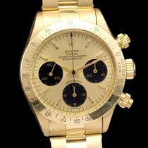 Rolex Daytona 6265 18k Yellow gold 9,3 mil serial number fat case