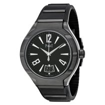 Piaget [NEW] Polo FortyFive Automatic Black Dial Rubber...