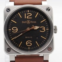 Bell & Ross 42mm Br03-92 Aviation Type Military Spec W/...