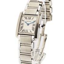 Cartier W51008Q3 Tank Francaise - Small Size - Stainless Steel...