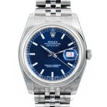 Rolex Datejust Steel Blue/Steel Ø36mm - 116200