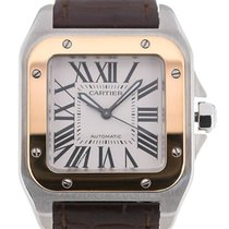 Cartier Santos 100 44 Automatic Leather
