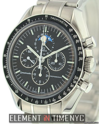 Omega Speedmaster Moonphase Black Dial 3576.50.00