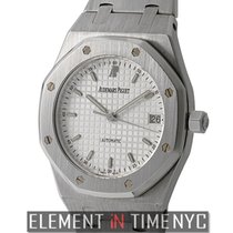 Audemars Piguet Royal Oak Stainless Steel 36mm White Dial ...