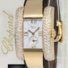 Chopard La Strada 18k Yellow Gold Diamond 23mm Ladies Watch...